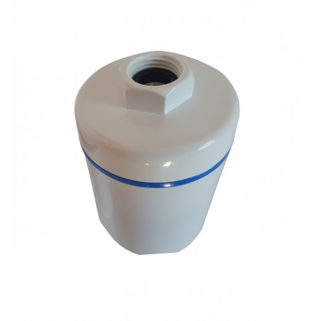 Filtr Prysznicowy węglowy ze złożem KDF - bakteriostatyczny - HFSHW