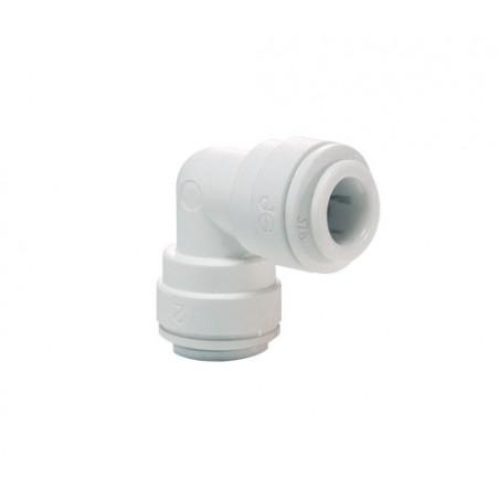 Kolanko przelotowe 2x(12mm) - JohnGuest  - PPM0312W - 5 szt.