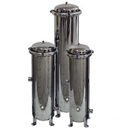 """Filtr przemysłowy mechaniczny SSF2-1"""" stal nierdzewna SS304 (10m3/h) typu AQSS"""