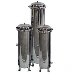 """Filtr przemysłowy mechaniczny SSF2-2"""" stal nierdzewna SS304 (25m3/h) typu AQSS"""