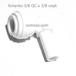 """Kolanko 3/8"""" wtyk x 3/8"""" wężyk - Organic CO.,LTD. WA-SE0606"""