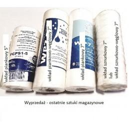 """Wkład piankowy 5"""" x 2,5"""" (13 cm x 6cm) FCPS1-5 Aquafilter"""