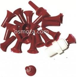 """Zaślepka 1/4"""" do szybkozłączki - Zatyczka AQ-PL2-R (czerwona) Aquafilter"""