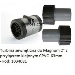 """Turbina zewnętrzna do Magnum 2"""" z przyłączem klejonym CPVC  63mm - 1034081"""
