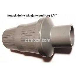 """Kosz dolny - wklejany pod rurę dystrybucyjną 3/4"""" (1.05)"""