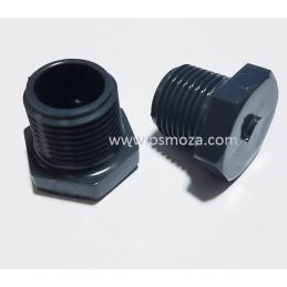 "Korek PVC-U  GZ 1/2""  do obudowy membrany AISI"