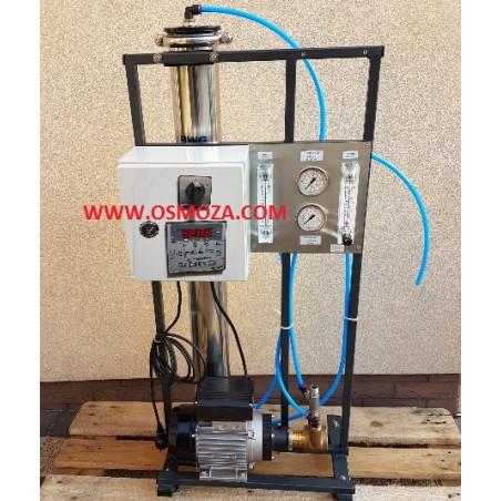 Mobilny Przemysłowy System RO - Odwrócona Osmoza 300 l./h RO300-ROC wersja FULL