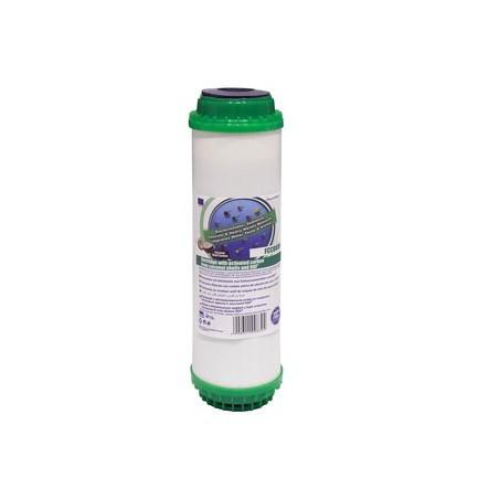 """FCCBKDF 10"""" wkład węglowy ze złożem KDF - Aquafilter"""