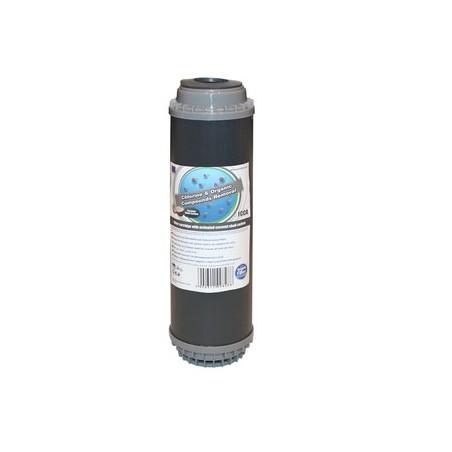 """FCCA 10""""  wkład węglowy ze złożem bitumicznym - Aquafilter"""