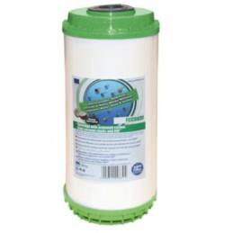 """FCCBKDF10BB  10"""" wkład węglowy typu Big Blue ze złożem KDF - Aquafilter"""