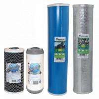 wkłady filtrujące węglowe , węgiel aktywowany, big blue kokosowy