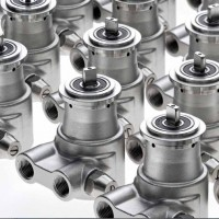 Części zamienne do Systemów Odwróconej Osmozy przemysłowej: pompy mosiężne i ze stali nierdzewnej , modele PR, PRG,