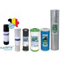 Wkłady filtrujące węglowe do wody